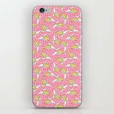 Low Down - banana memphis retro throwback vintage geometric neon pop art fruit summer spring  iPhone & iPod Skin