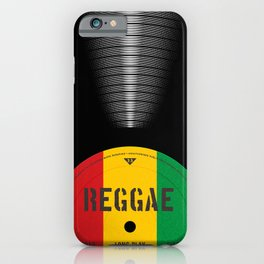 VINYL MUSIC / Reggae iPhone Case