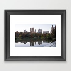 Central Park Fall Series 3 Framed Art Print