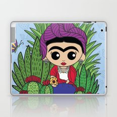 Frida in the Cacti 1 Laptop & iPad Skin