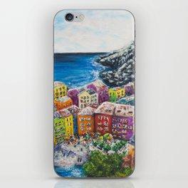 Cosy Cove from Cinque Terre, Italia iPhone Skin