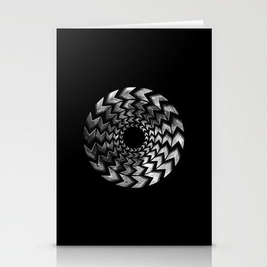 Lunar Illusion Stationery Cards