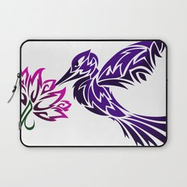 Hummingbird W/ Flower Laptop Sleeve