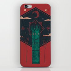 The Crimson Tower iPhone & iPod Skin