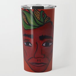 Native Face 2 Travel Mug