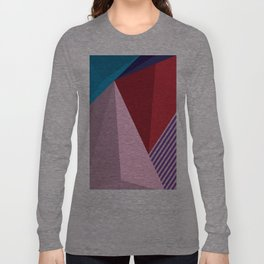 Abstract Modernist Long Sleeve T-shirt