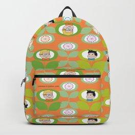 mabo & jimmy garden orange 2 Backpack