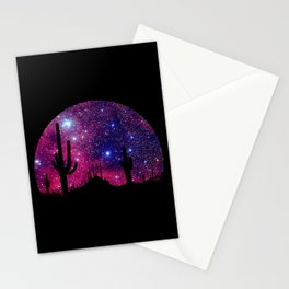 Noche caliente Stationery Cards