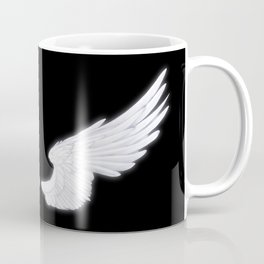 White Angel Wings Coffee Mug