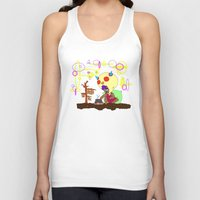 cook Tank Tops featuring Spirit Cook by Gphayt