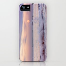 Reaching for the moon iPhone Case