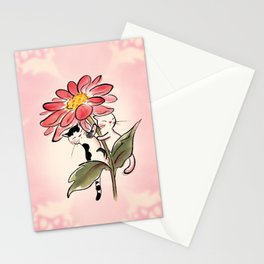 Flower Twins Stationery Cards