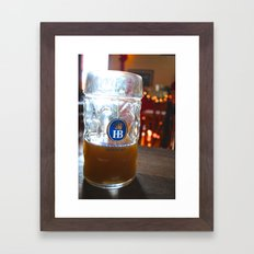 Drink Like a German Framed Art Print