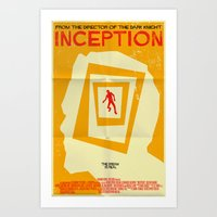 inception Art Prints featuring Inception  by Mark Welser