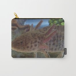 Wild Axolotl Carry-All Pouch
