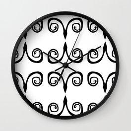 SérieArabesque-04 Wall Clock