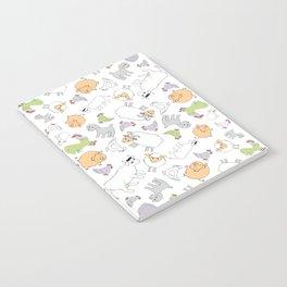 The Little Farm Animals Notebook