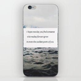 Find someone iPhone Skin