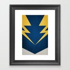 Lightning Lad Framed Art Print