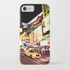 Times Square Lights - New York City iPhone 7 Slim Case