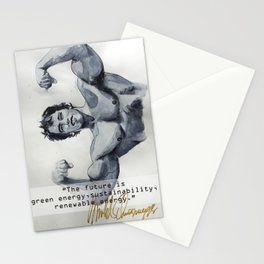 Arnold the ecologist Stationery Cards