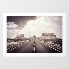 Road to the Giants Art Print