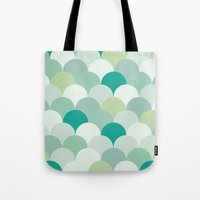 scales Tote Bags featuring SCALES by Sarah Stark