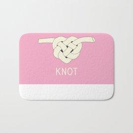 He Loves Me Knot Bath Mat