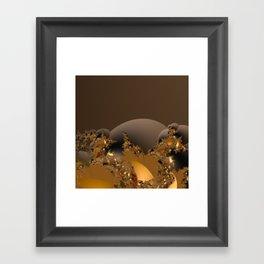 Golden Taste of Chocolates Framed Art Print