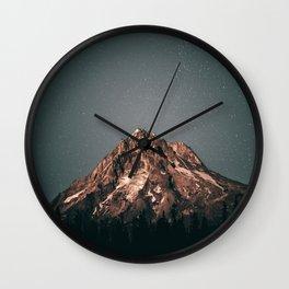 Mount Hood VI Wall Clock