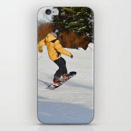 Snowboarding Fool iPhone Skin