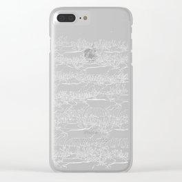 Night belongs to Reindeer Clear iPhone Case