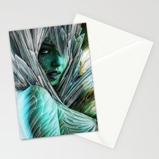 Winter she comes... Stationery Cards