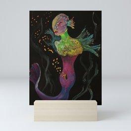 Birth of Mermaids Mini Art Print
