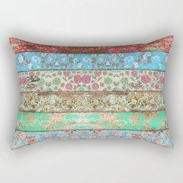 Rococo Style Rectangular Pillow