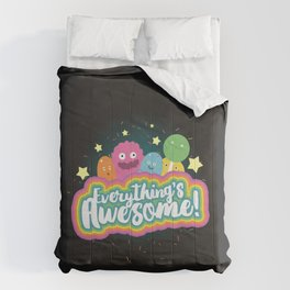 Everything's Awesome! Comforters