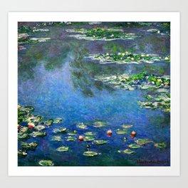 Monet Waterlilies Art Print