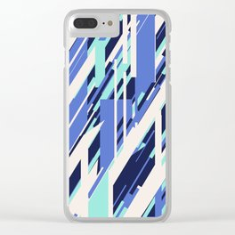 Stripe Bliss Clear iPhone Case