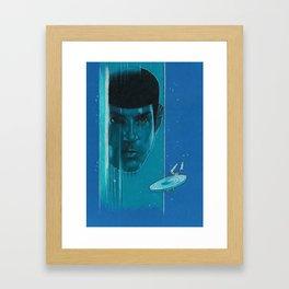 Live Long & Prosper Framed Art Print