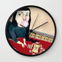 * CHICA MASCANDO CHICLE * Wall Clock