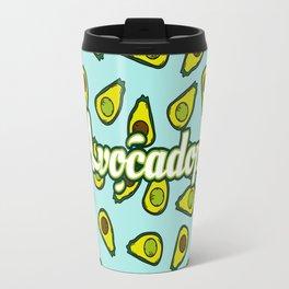 Avocadope pattern Travel Mug