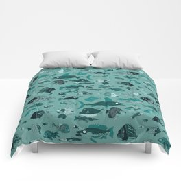 Something Fishy Comforters