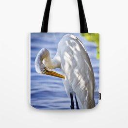 Great Egret Grooming Tote Bag