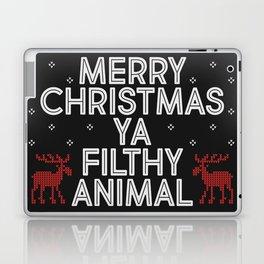 Merry Christmas Ya Filthy Animal Laptop & iPad Skin