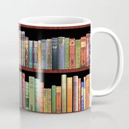Book Lovers Gifts, Antique bookshelf Coffee Mug