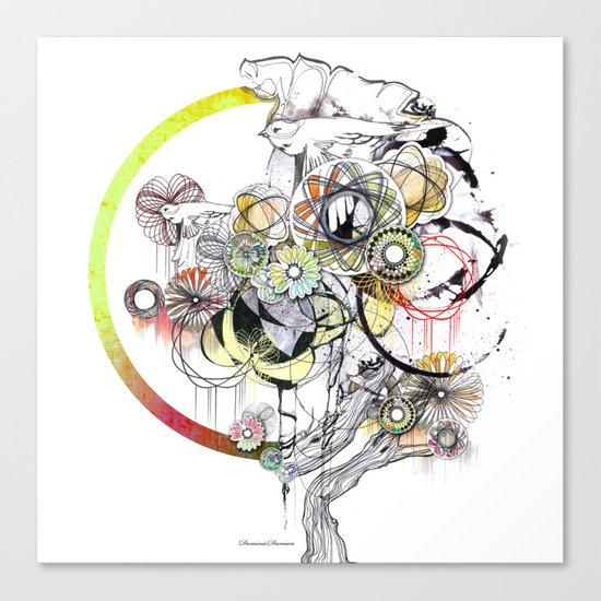 bouquet 3 Canvas Print