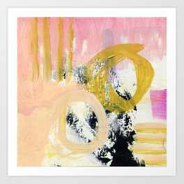 Some Things #5 - Abstract Painting Art Print