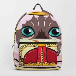 THE CAT KING Kitty Cat Backpack