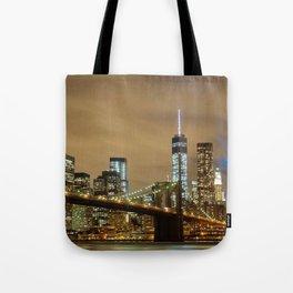 New York Ciy Nightlife Tote Bag