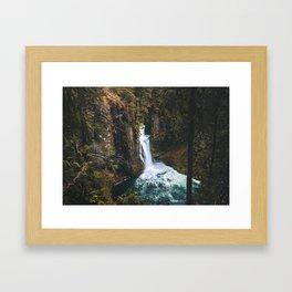 Toketee Falls, Oregon Framed Art Print